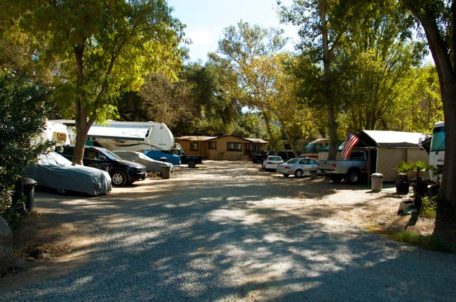 Browse Through Our Southern California Family RV Campground Picture Gallery Below To Get A Better Of What Expect When Coming Campsite